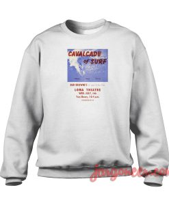 Cavalcade Of Surf Crewneck Sweatshirt