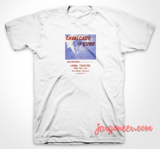 Cavalcade Of Surf T Shirt