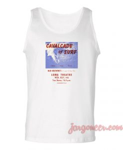 Cavalcade Of Surf Unisex Adult Tank Top