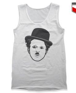 Charlie Chaplin Unisex Adult Tank Top