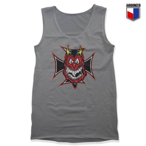 Chopper Devil Unisex Adult Tank Top