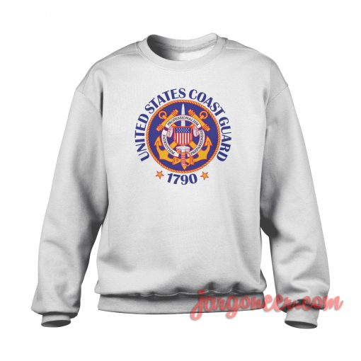 Coast Guard 1970 Crewneck Sweatshirt
