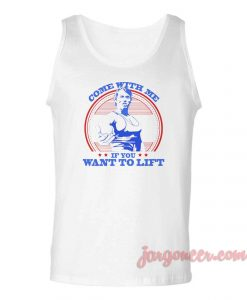 Come With Me Arnold Unisex Adult Tank Top