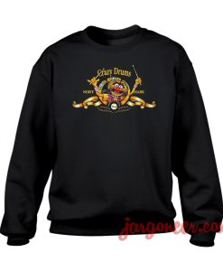 Crazy Drums Noisy Mark Crewneck Sweatshirt