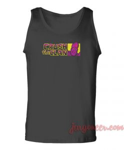 Crush The Clan Unisex Adult Tank Top