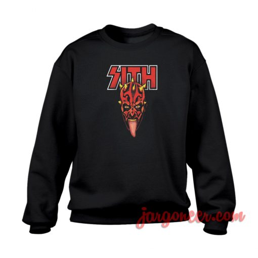 Darth Maul Sith Kiss Crewneck Sweatshirt