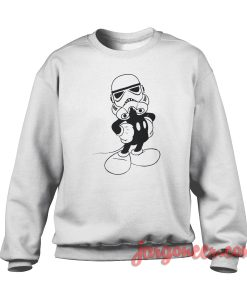 Disney Star-Wars Crewneck Sweatshirt