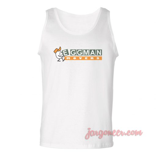 Eggman Movers Unisex Adult Tank Top