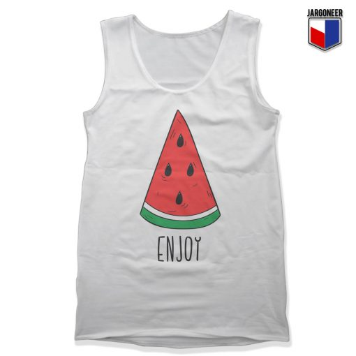 Enjoy Watermelon Unisex Adult Tank Top