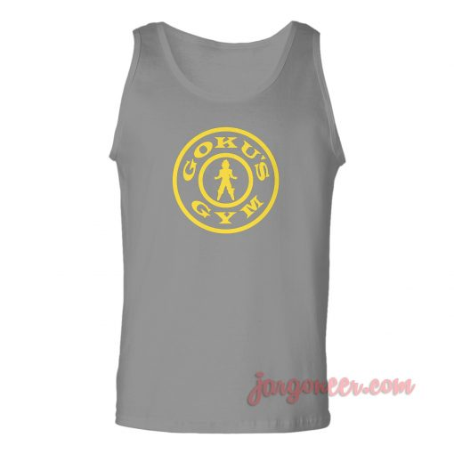Goku's Gym Unisex Adult Tank Top