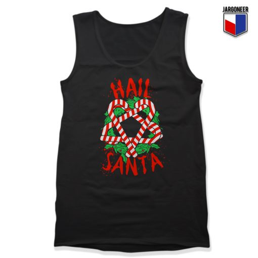 Hail Santa Unisex Adult Tank Top