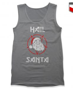 Hail Satan Claus Unisex Adult Tank Top