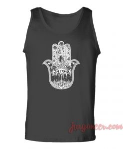 Hamsa Hand Eye Unisex Adult Tank Top