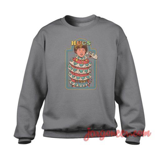Hugs Snake Crewneck Sweatshirt