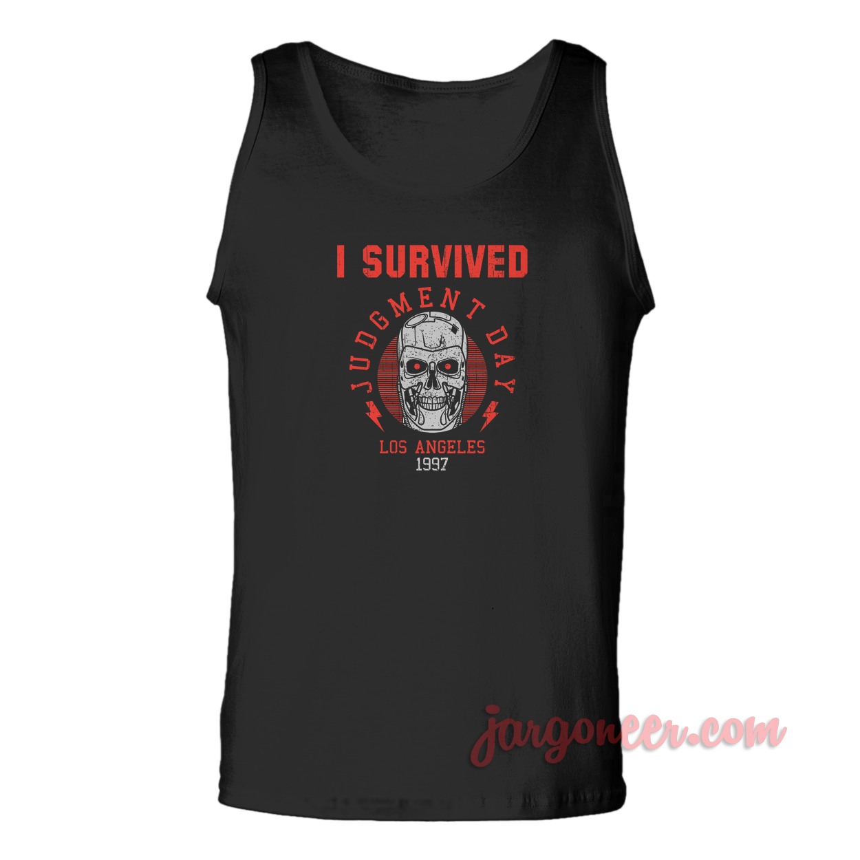 I Survived Judgment Day Unisex Adult Tank Top