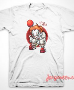 IT Clown Float T-Shirt