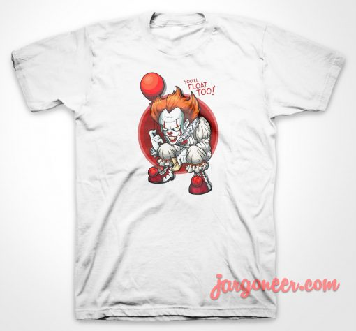IT Clown Float T-Shirt