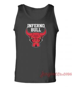 Inferno Hell Bull Unisex Adult Tank Top