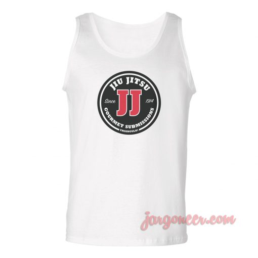 Jiu Jitsu Gourment Submissions Unisex Adult Tank Top