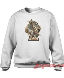 Jumanji Adventure Crewneck Sweatshirt