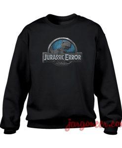 Jurassic Error Crewneck Sweatshirt
