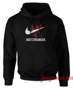 Just Stranger Upside Down Hoodie