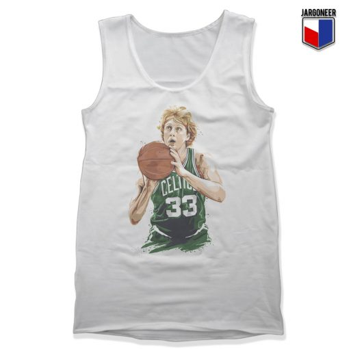 Larry Bird Unisex Adult Tank Top