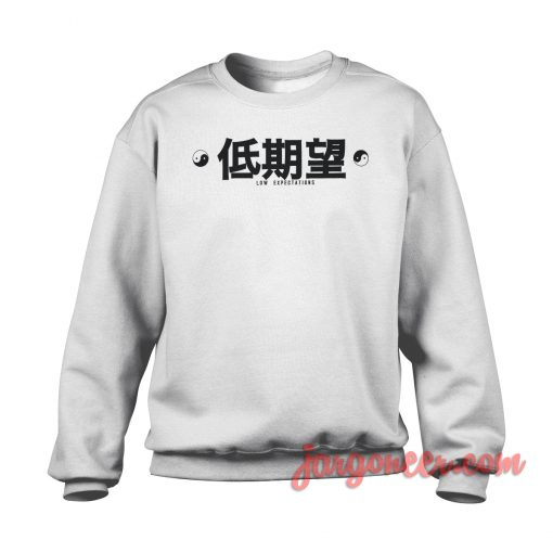 Low Expectation Crewneck Sweatshirt