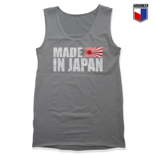 Made In The Land Of Rising Sun Unisex Adult Tank Top
