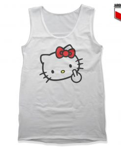 Bad Kitty Unisex Adult Tank Top