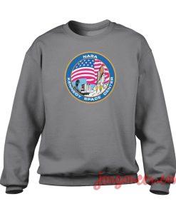 Nasa Rocket Crewneck Sweatshirt