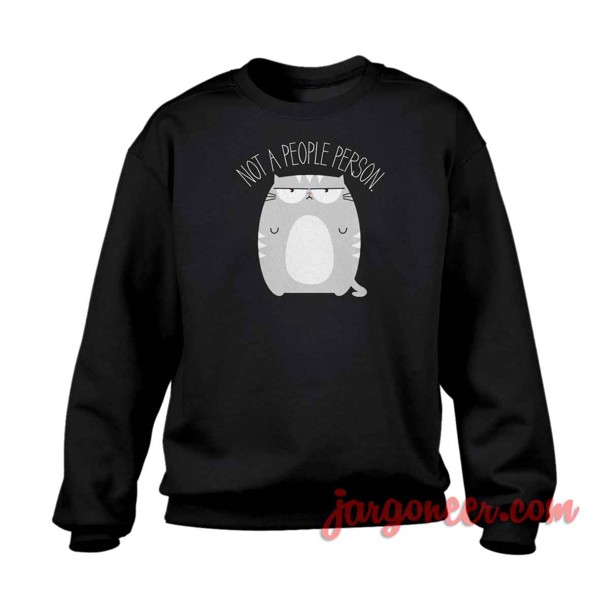 Not A People Person Crewneck Sweatshirt