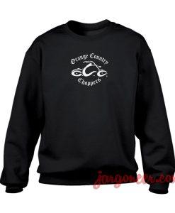 Orange Country Chopper Crewneck Sweatshirt
