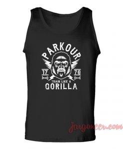 Parkour Gorilla Unisex Adult Tank Top