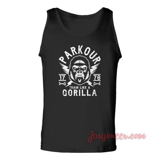 Parkour Gorilla Unisex Adult Tank Top