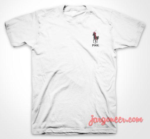 Pool Horse Parody T Shirt