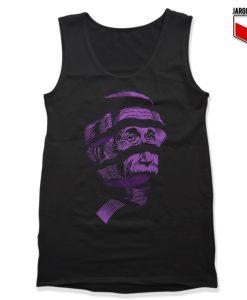 Purple Einstein Unisex Adult Tank Top
