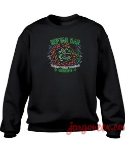 Reptar Bar Green Crewneck Sweatshirt