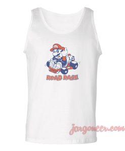 Road Rage Mario Unisex Adult Tank Top