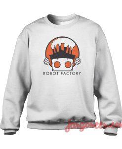 Robot Factory Crewneck Sweatshirt