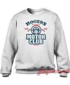 Rogers Motor Club Crewneck Sweatshirt