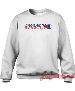 Romantic Logo Crewneck Sweatshirt
