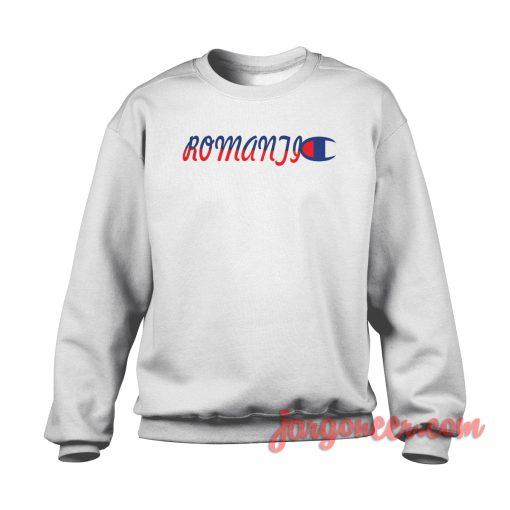 Romantic Logo Crewneck Sweatshirt