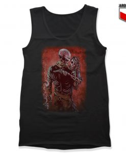 Skulls Romance Unisex Adult Tank Top