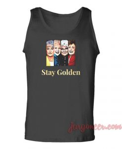 Stay Golden Movie Unisex Adult Tank Top