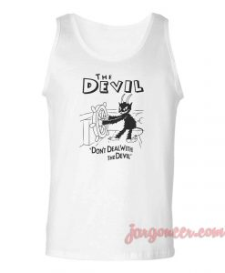 Steam Boat Devil Unisex Adult Tank Top
