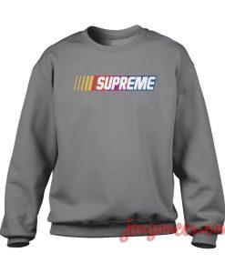 Supreme Nascar Crewneck Sweatshirt