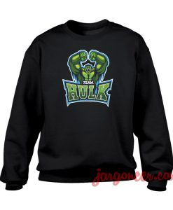 Team Hulk Crewneck Sweatshirt