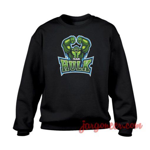 Team Hulk Crewneck Sweatshirt