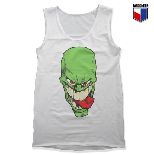The Crazy Green Face Guy Unisex Adult Tank Top